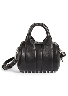 Alexander Wang Baby Rockie Leather Satchel