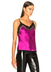 Alexander Wang Bias Lace Cami Top