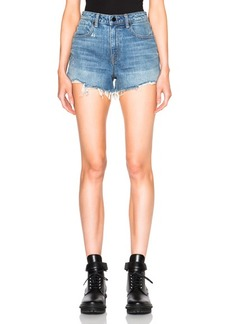 Alexander Wang Bite High Rise Shorts