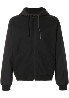 Alexander Wang boxy hooded jacket - Black