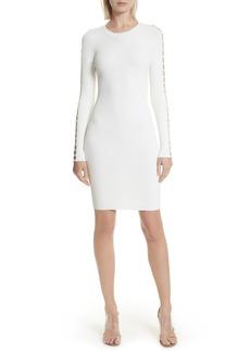 T by Alexander Wang Bra Strap Sleeve Body-Con Dress