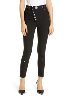 Alexander Wang Button Detail Leggings