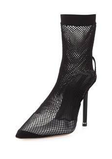 Alexander Wang Caden Fishnet Runway High Pump