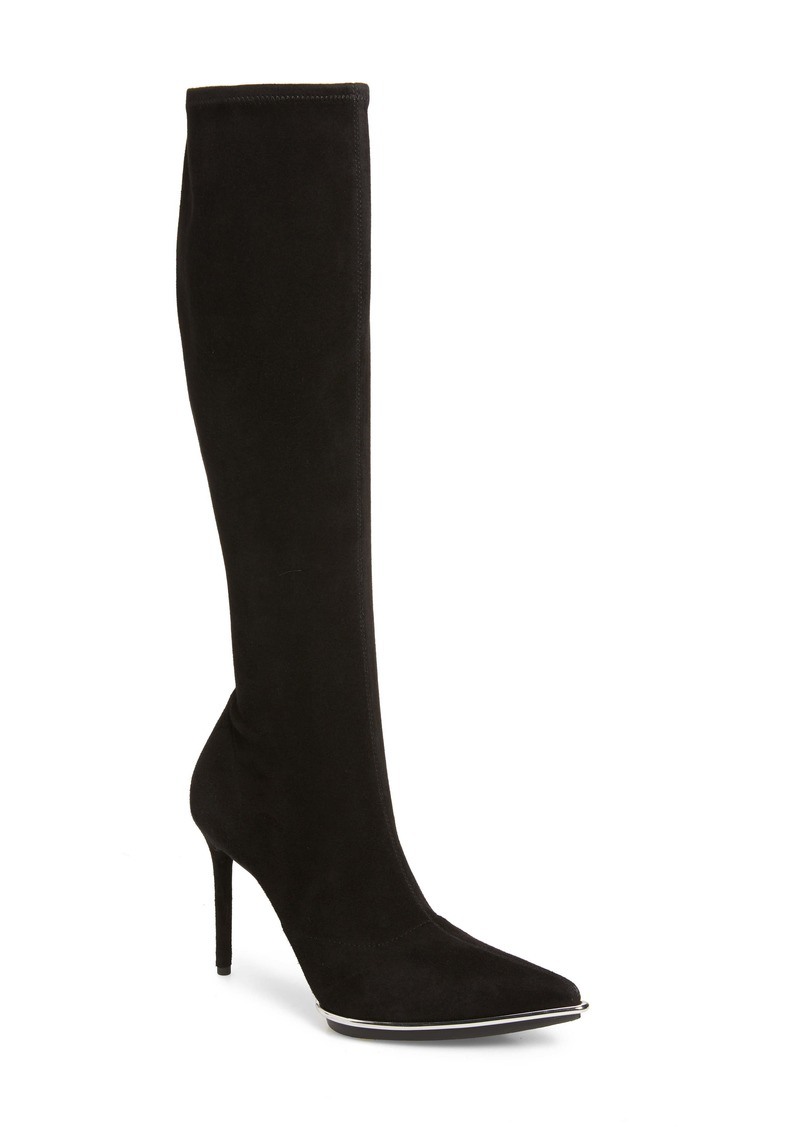 Alexander Wang Cara Knee High Pointed Toe Boot (Women)