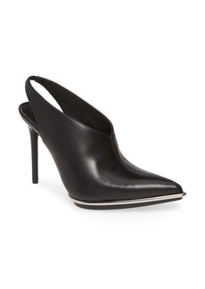 Alexander Wang Cara Slingback Pointed Toe Pump (Women)
