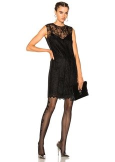 Alexander Wang Chain Trim Lace Dress