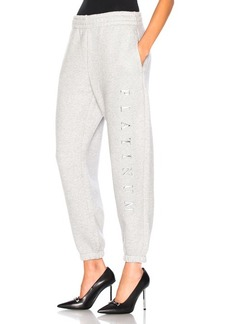 Alexander Wang Chrome Decal Sweatpants