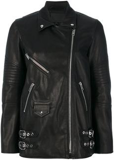 Alexander Wang Classic Biker jacket - Black