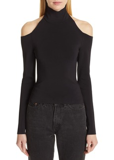 Alexander Wang Cold Shoulder Knit Top