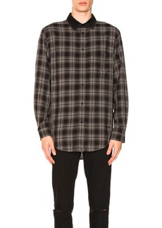 Alexander Wang Combo Collar Shirt