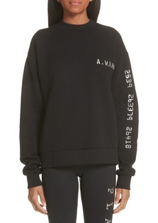 Alexander Wang Credit Card Sweatshirt