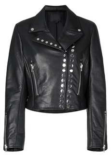 Alexander Wang cropped biker jacket