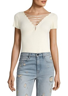 Alexander Wang Cropped Top Pullover
