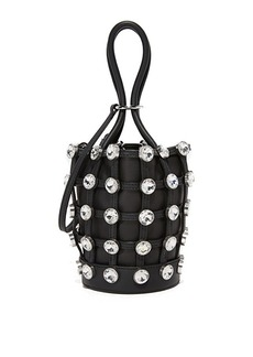 Alexander Wang Crystal Roxy Mini Bucket Bag