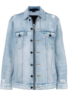 Alexander Wang Daze zip denim jacket