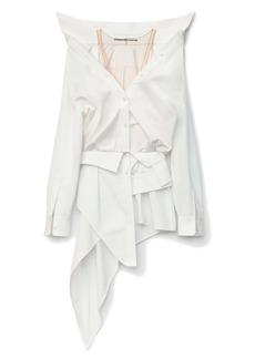 Alexander Wang Deconstructed Cotton Shirt