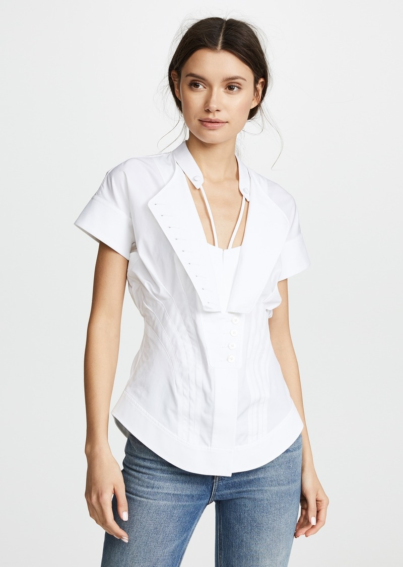 Alexander Wang Deconstructed Poplin Shirt