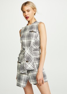 Alexander Wang Deconstructed Tie Front Dress