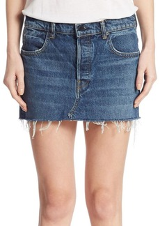 Alexander Wang Denim Five-Pocket Mini Skirt