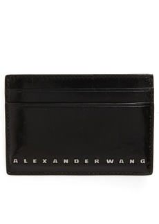 Alexander Wang Dime Leather Card Case