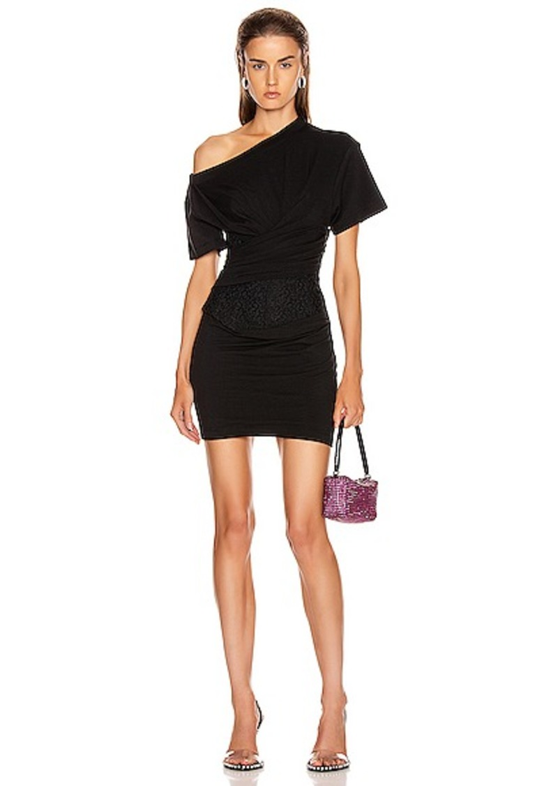 Alexander Wang Draped Bustier Dress