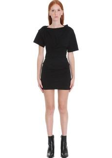 Alexander Wang Dress In Black Cotton