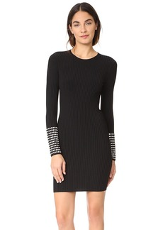Alexander Wang Dress with Crystal Cuff Detail