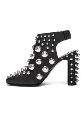 Alexander Wang Embellished Leather Ellery Heels