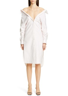 Alexander Wang Falling Down Shirtdress