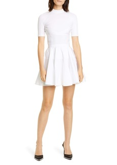 Alexander Wang Fit & Flare Minidress