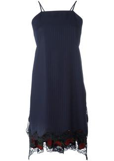 Alexander Wang flared apron dress - Blue