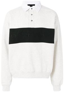 Alexander Wang Fleece Polo shirt - White