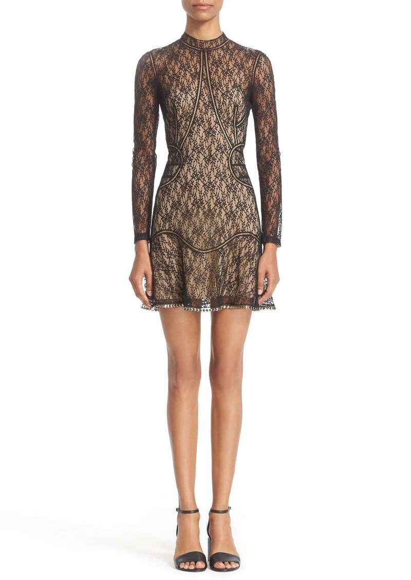Alexander Wang Floral Lace Minidress
