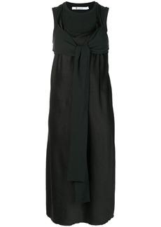 Alexander Wang fold front dress - Black