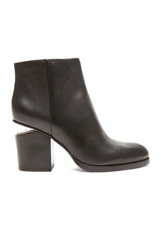 Alexander Wang Gabi Ankle Booties with Rose Gold Hardware