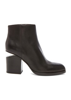 Alexander Wang Gabi Ankle Booties with Silver Hardware