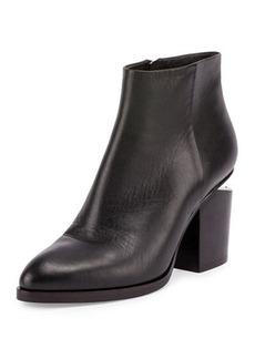 Alexander Wang Gabi Tilt-Heel Leather Boot