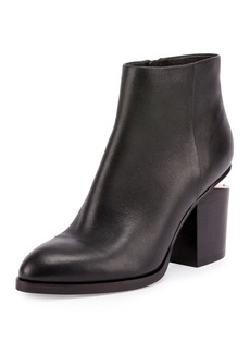 Alexander Wang Gabi Tilt-Heel Leather Boot