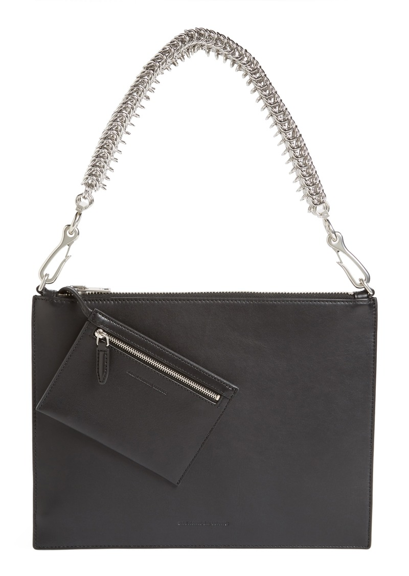 Alexander Genesis Box Chain Leather Pouch