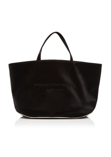 Alexander Wang Halo Black Satin Tote Bag