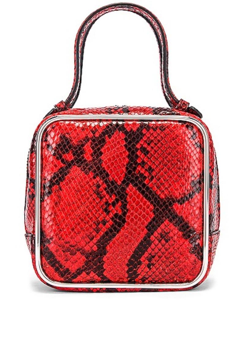 Alexander Wang Halo Top Handle Snake Print Bag