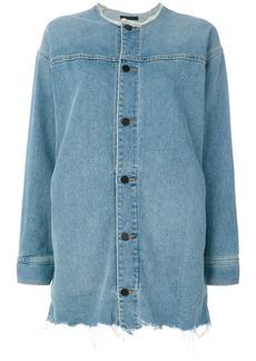 Alexander Wang Haze denim jacket - Blue