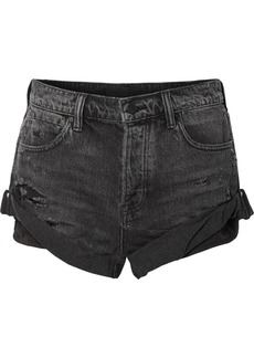 Alexander Wang Hike denim shorts