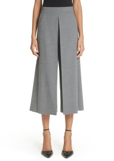 Alexander Wang Houndstooth Inverted Pleat Crop Pants