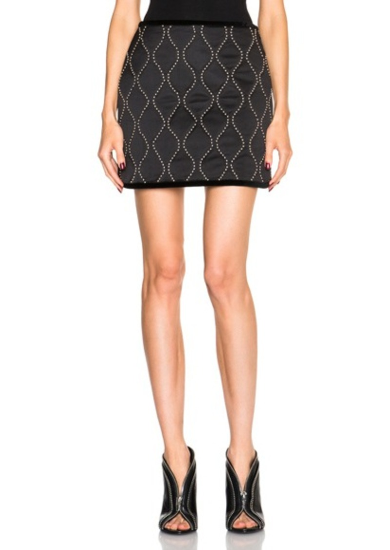 Alexander Wang Hourglass Studded Mini Skirt
