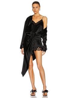 Alexander Wang Hybrid Lace PJ Slip Dress