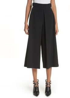 Alexander Wang Inverted Pleat Crop Pants