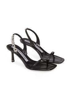 Alexander Wang Ivy Crystal Embellished Sandal (Women)