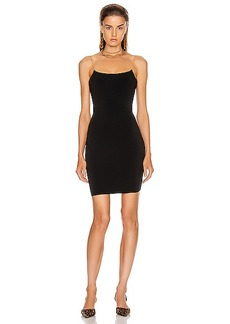 Alexander Wang Jersey Chain Straps Dress