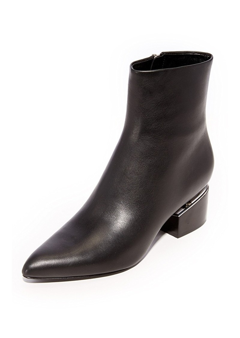 alexander wang alexander wang jude low heel booties shoes. Black Bedroom Furniture Sets. Home Design Ideas